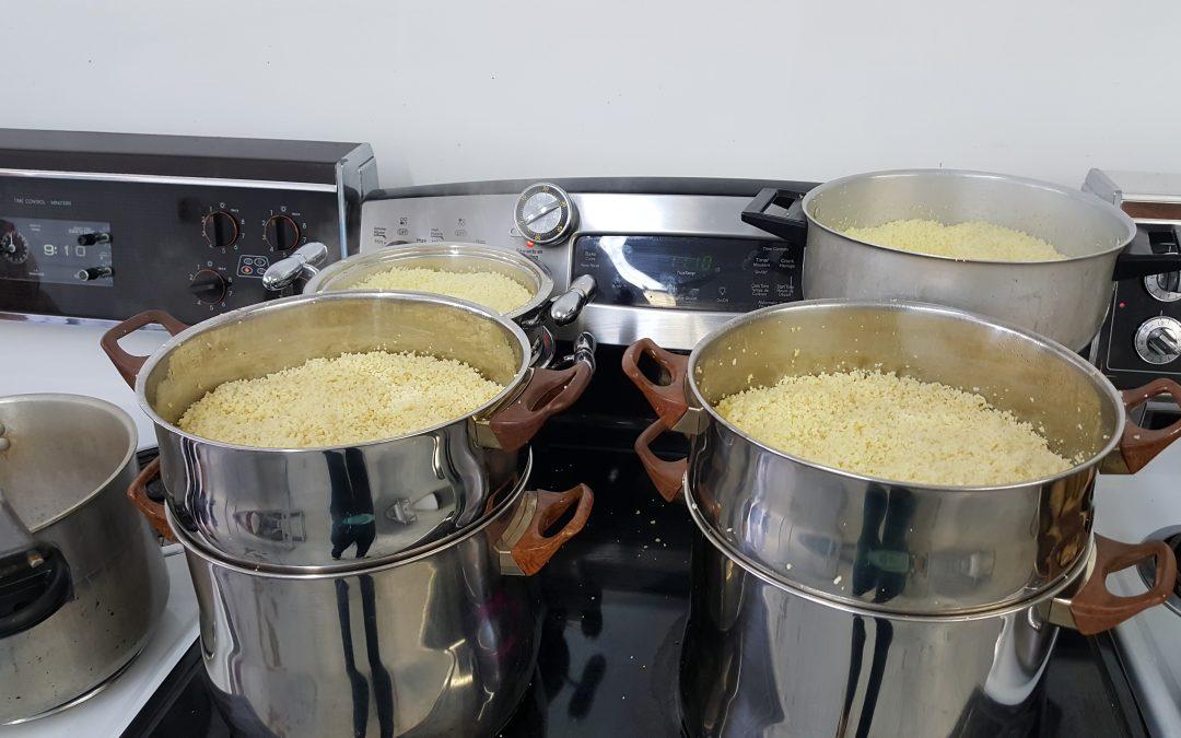 Le Saturday noon Couscous, dîner levée de fond